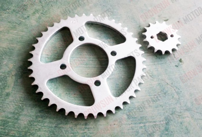 HJ125-7 SPROCKET KIT